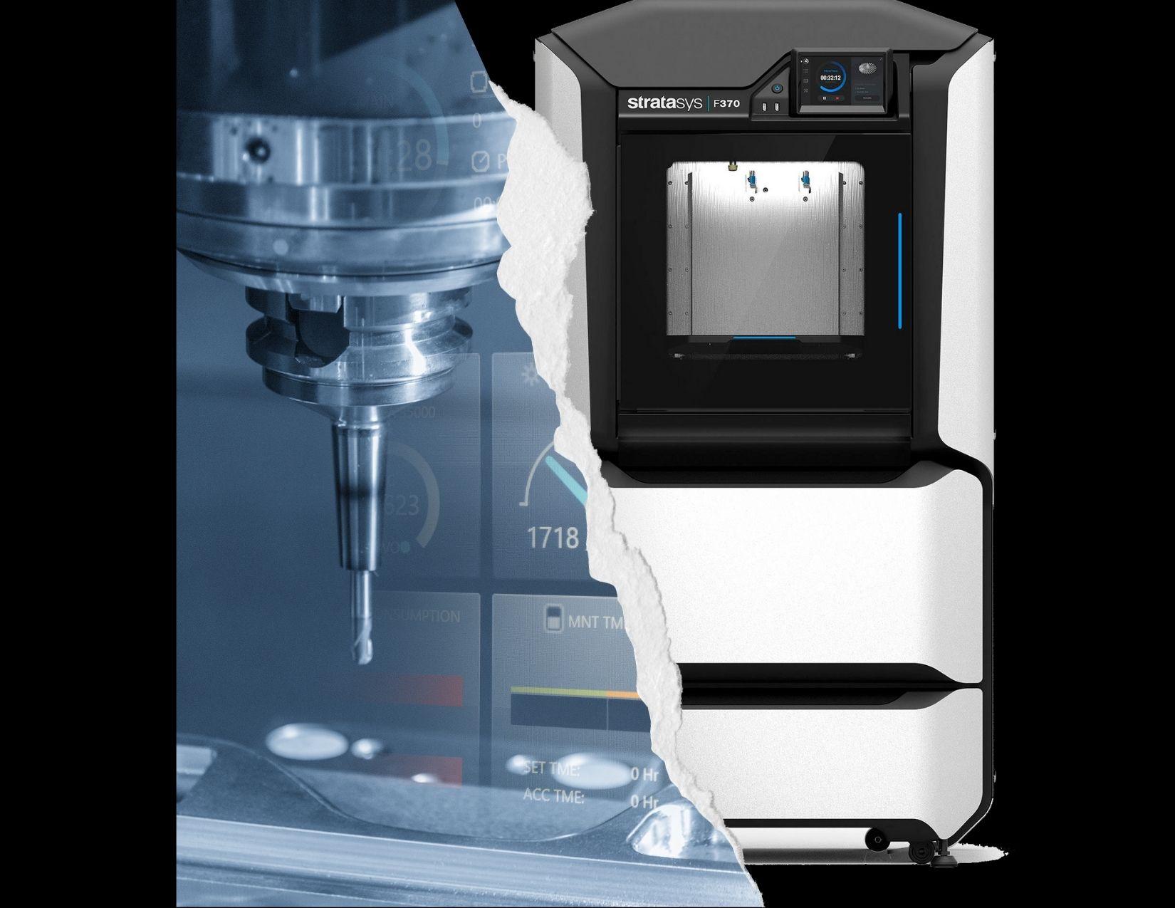 impresión 3D y Maquinado CNC