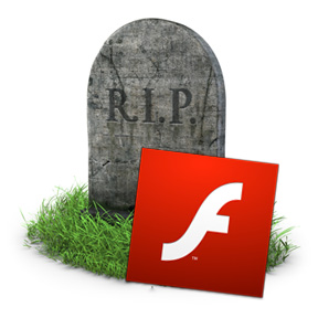 Flash is dead or dying.