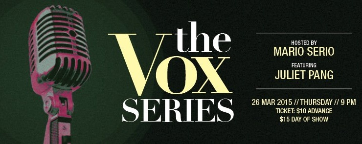 THE VOX SERIES featuring JULIET PANG
