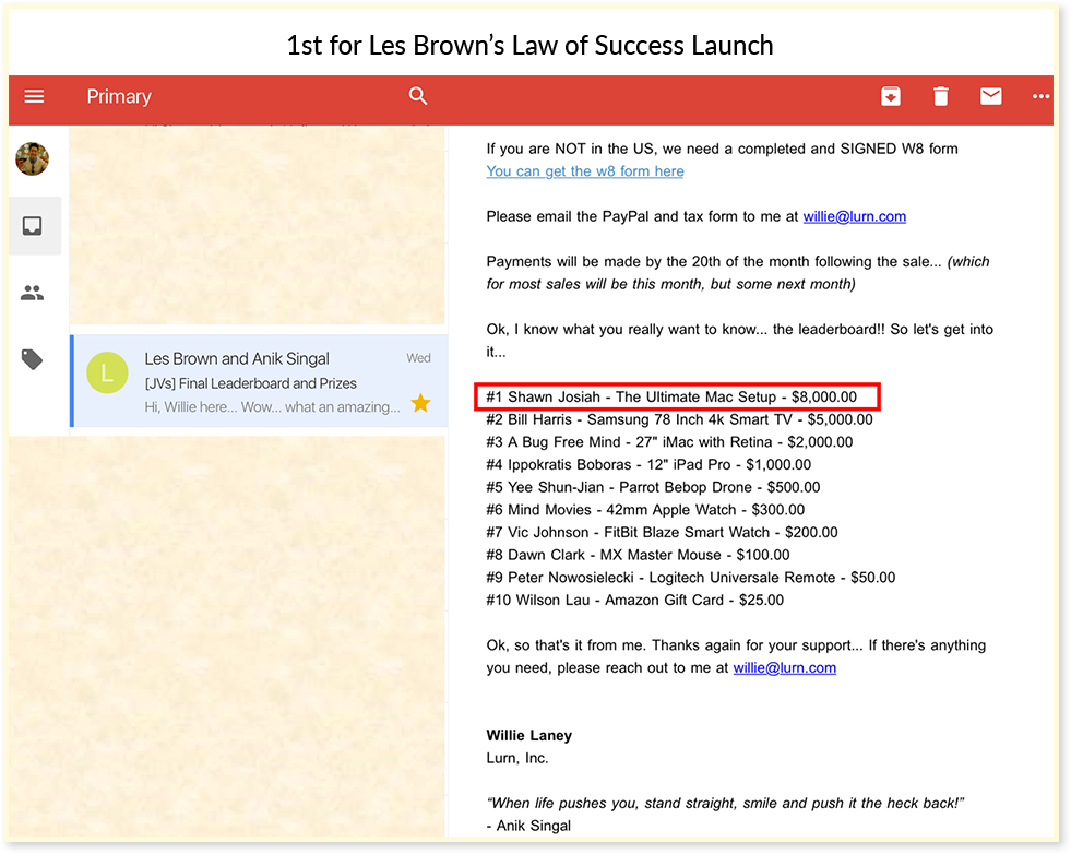 The 7 Steps Email Profit System | Thiink Tribe Publishing