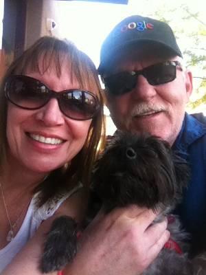 Mary Davey, Barney Davey, & Maggie the Wonder Dog