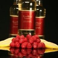 Lemon-Raspberry Sweet Green Tea from KimBees