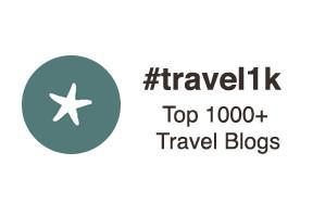 #travel1k Top 1000+ Travel Blogs