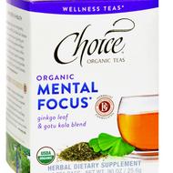 Organic Mental Focus from Choice Organic Teas