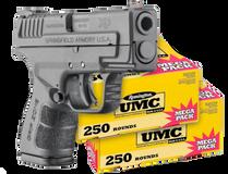 Springfield Armory Springfield Armory XD MOD.2 Sub-Compact + UMC 9mm 500 Rounds