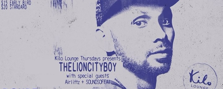 TheLionCityBoy with special guests Airliftz & Sounds Of Fai