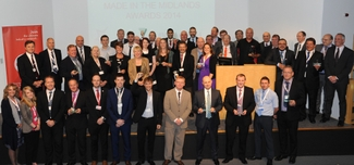 MIM Awards winners group shot with sponsors