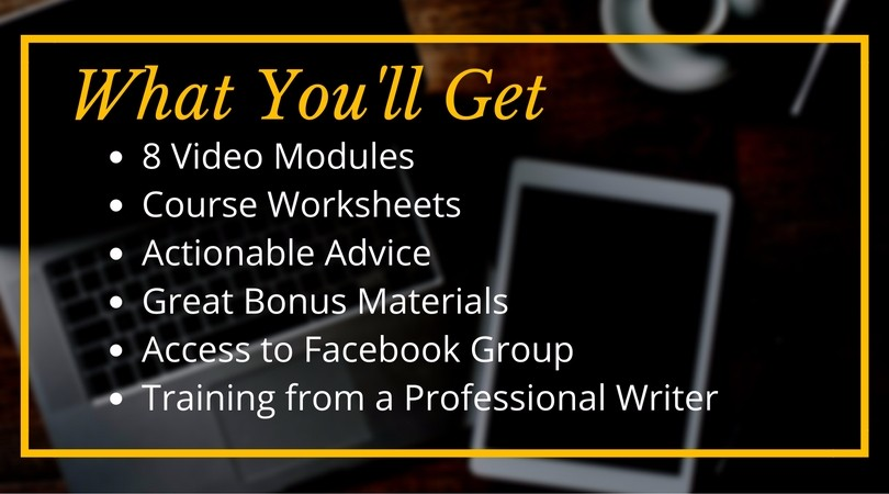 Earn More Writing | The Best Freelance Writing Course Online - What You Get