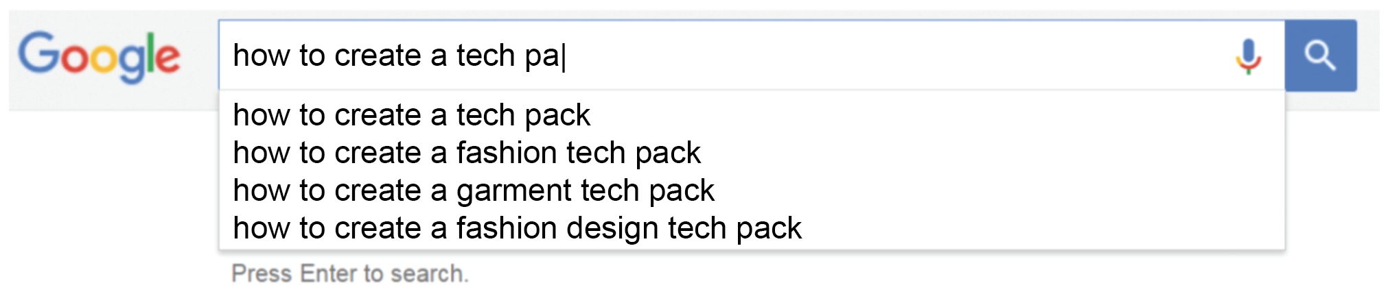 """c7e0ecdb5222 You stare at the google search bar wondering what to type in to get  started. """"How to create a fashion tech pack"""" gives you some results (some  of them are ..."""