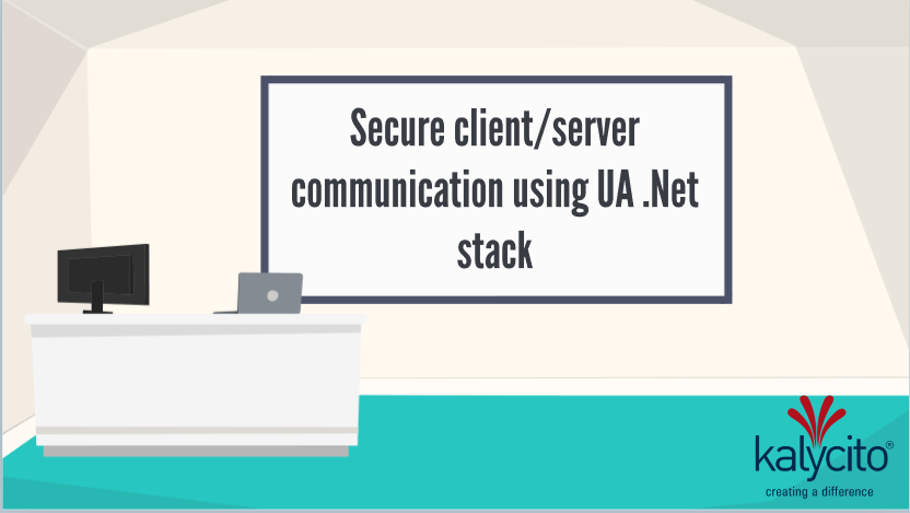 UA .Net secure client/server