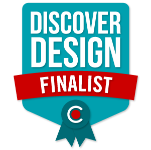 Badge for 2016 National DiscoverDesign Competition - Finalist