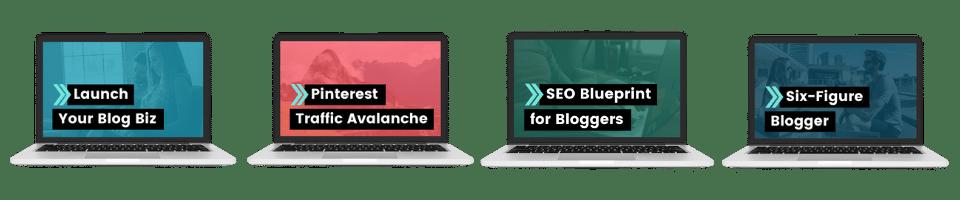 pro blogger bundle courses