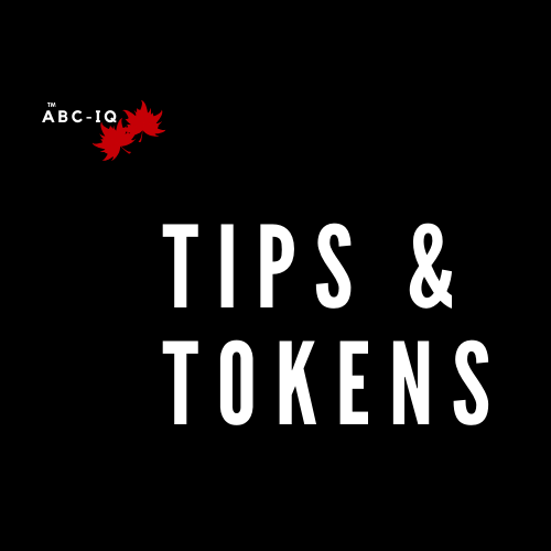 Collect Your Tips and Tokens Along The Trail to Proceed