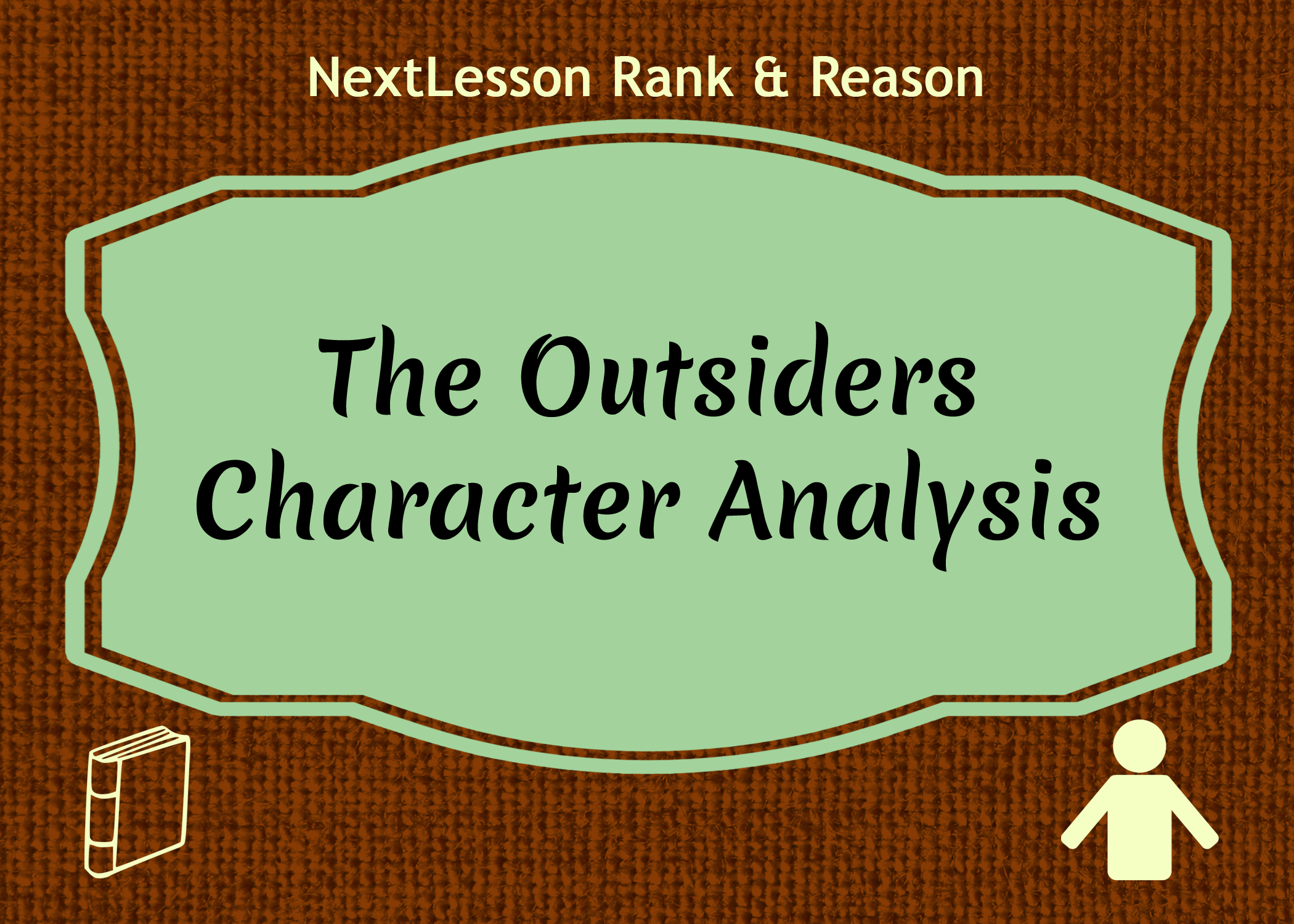 an analysis of the outsiders Study guides get your head around tough topics at a-level with our teacher written guides learn more.