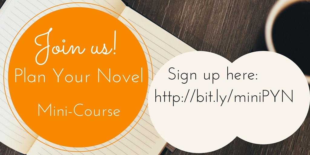 Plan Your Novel free mini-course