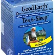 Tea For Sleep from Good Earth Teas