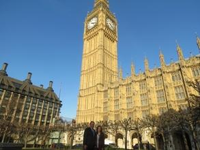 Megan Vellam Meets MP John Hayes at Westminster
