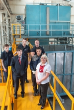 Apprentices begin their careers in industry at AHT