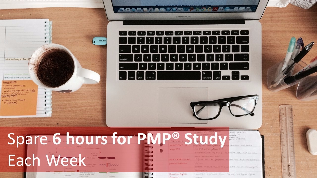 pmp study plan for working professionals