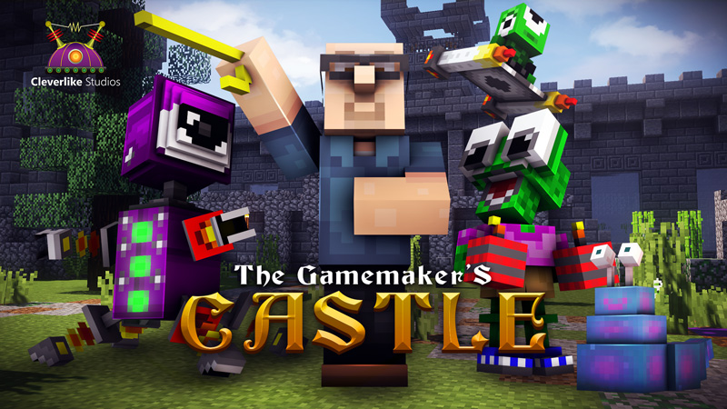 The Gamemaker's Castle in the Minecraft Marketplace
