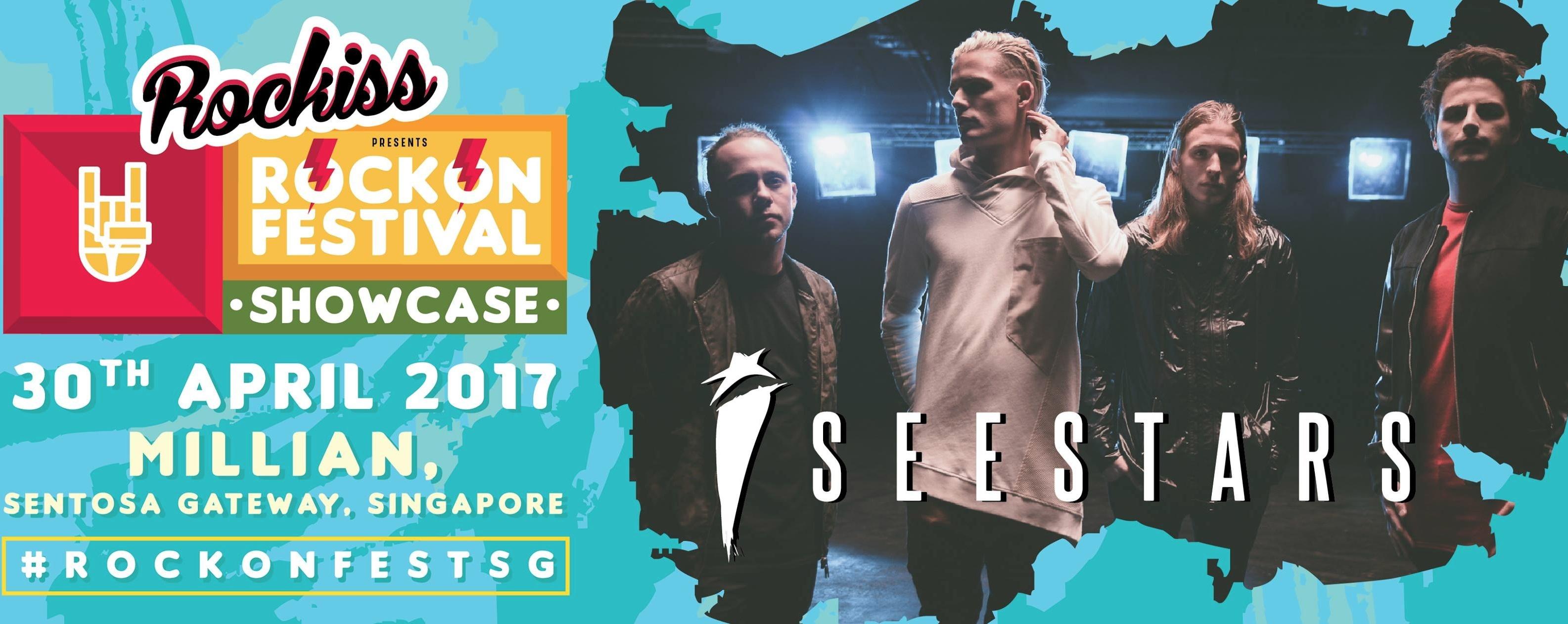 Rockiss Rockton Festival Showcase: I See Stars live in Singapore