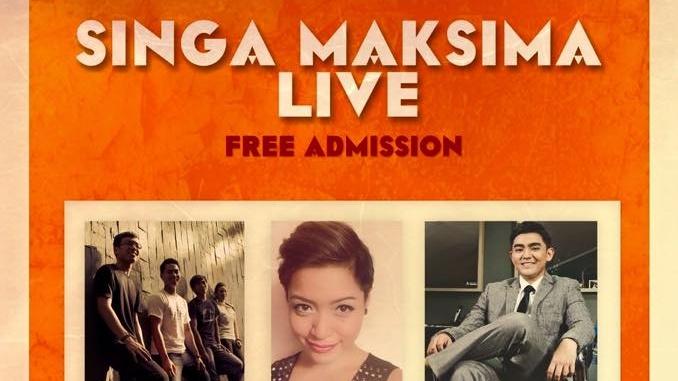 Singa Maksima Live