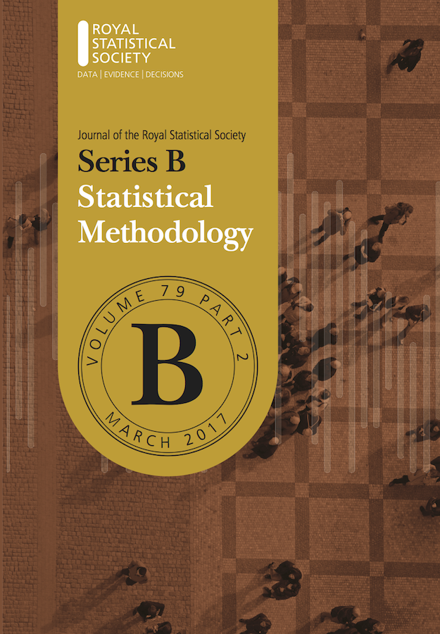 Template for submissions to Journal of the Royal Statistical Society: Series B (Statistical Methodology)