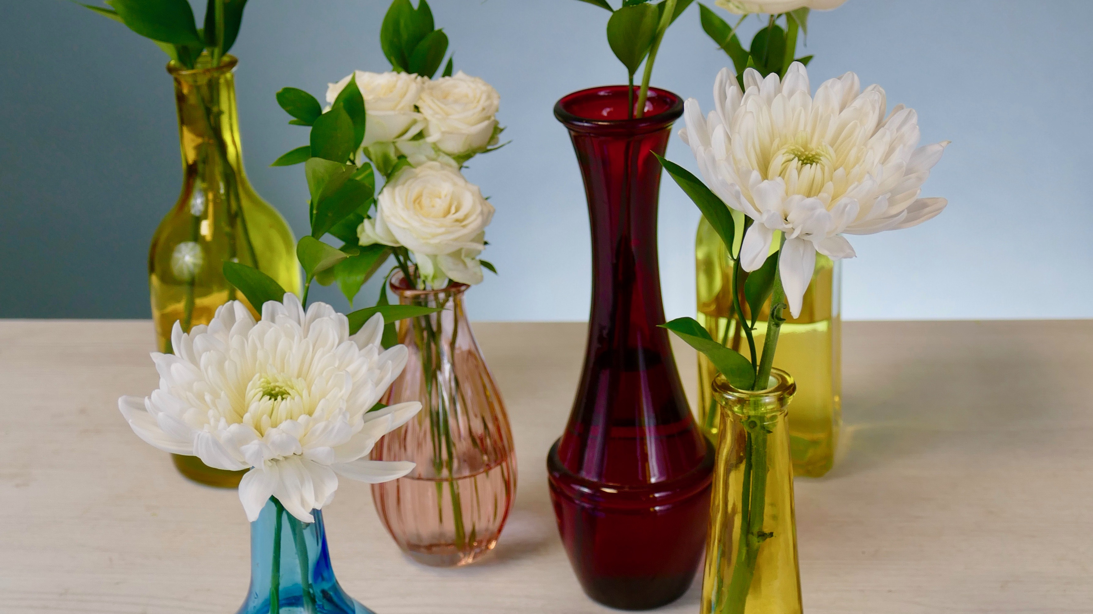 Flower Fridays: Gathered Vases + Table Accents