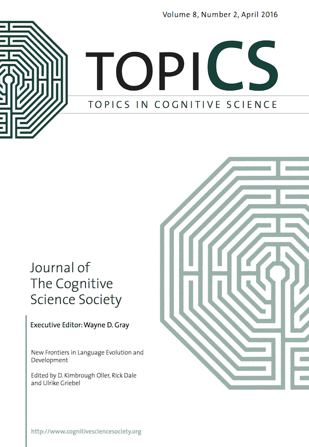 Template for submissions to Topics in Cognitive Science