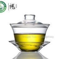 Hengfu Gongfu Tea Clear Glass Gaiwan 150ml 5oz HTL1201 from Dragon Tea House