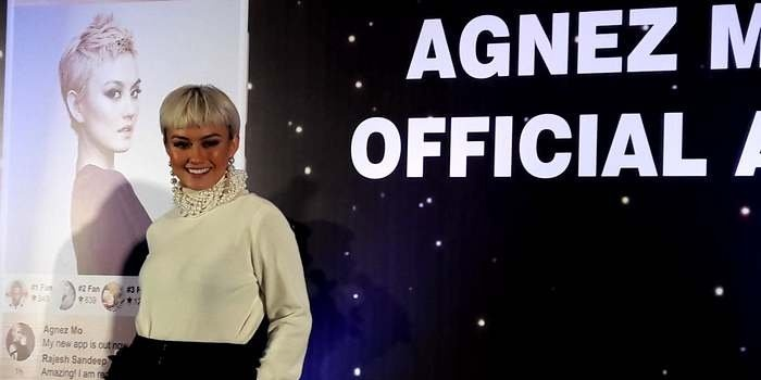 Agnez Mo launches personal mobile application