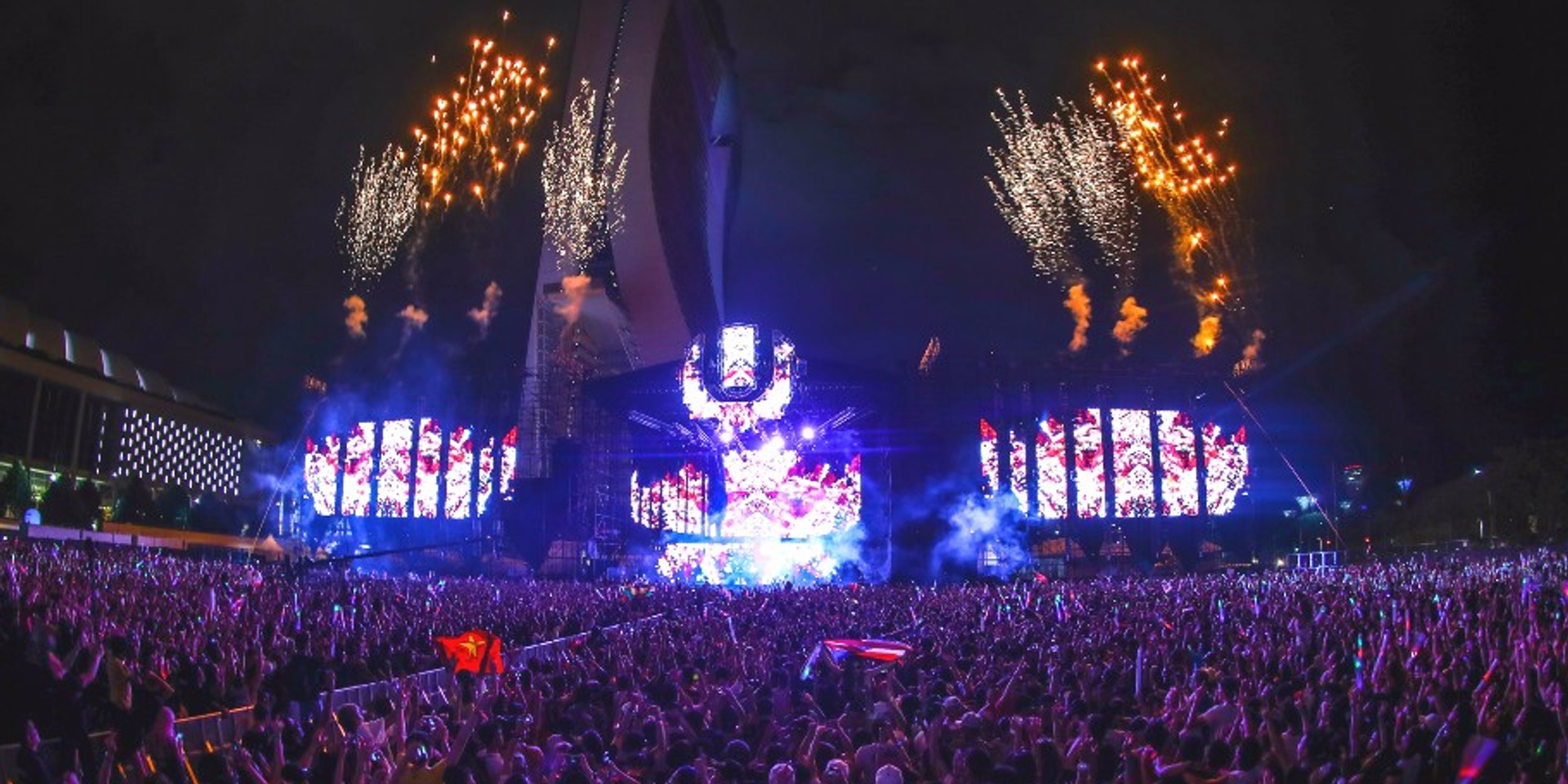Exclusive video preview of Ultra Singapore's Main Stage and a walkthrough of the festival grounds