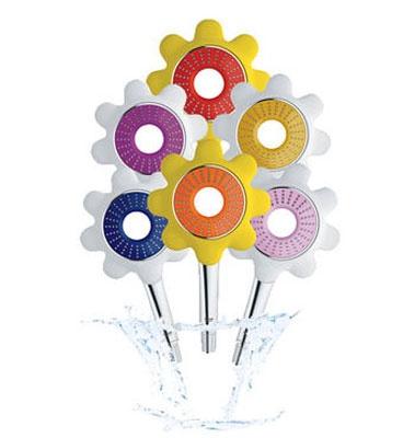 Icon Flower hånddusj, blå