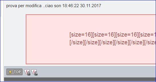"""[richiesta] Non far apparire la scritta """"ultima modifica"""" Kmjc4tFjQXioNwmQwexI+Cattura"""