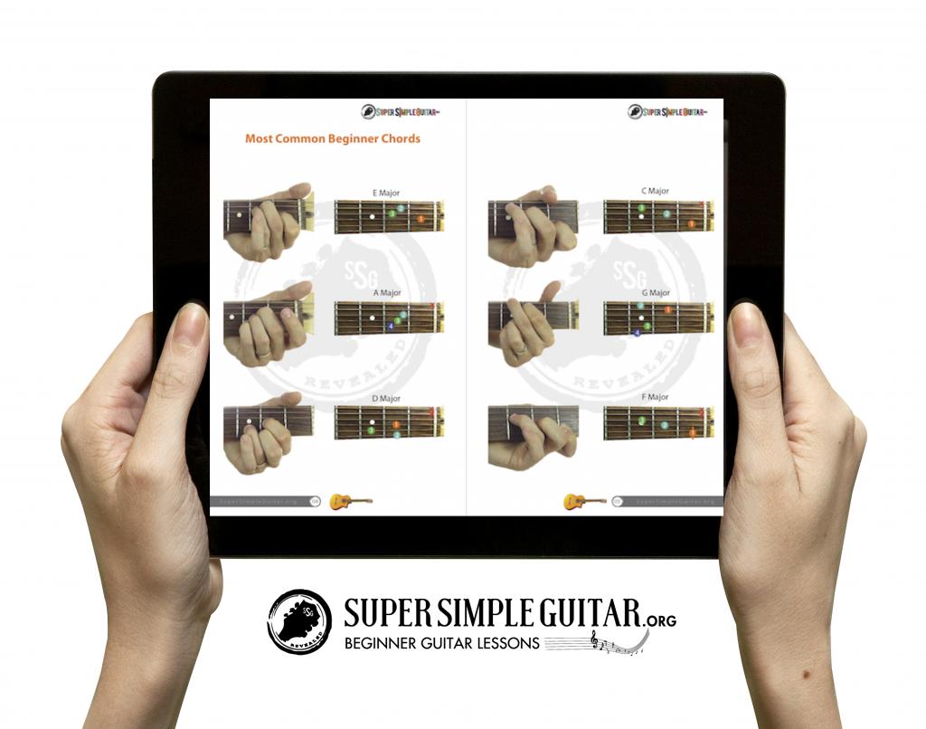 Free Picture Chord Book Fun Bonus Lessons Supersimpleguitar