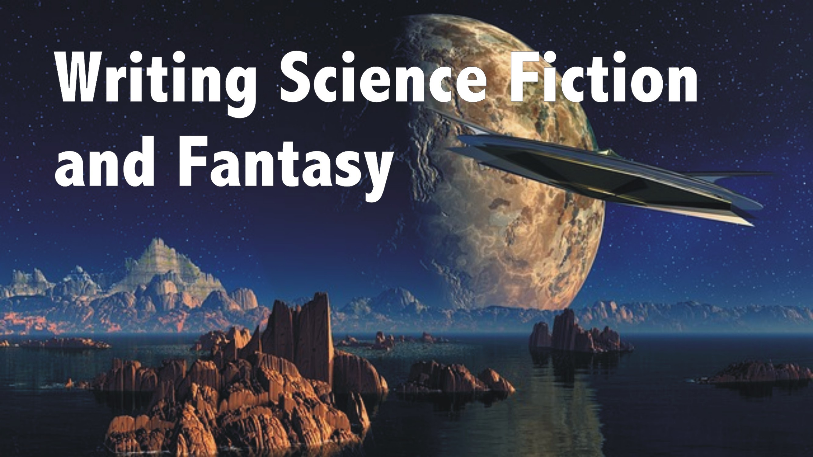 Writing Science Fiction and Fantasy Logo