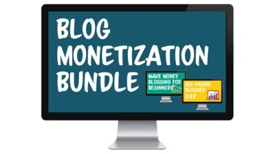 blog monetization bundle course