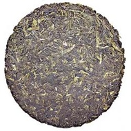 2007 Vintage Organic Green Pu-erh Cake from Imperial Tea Court