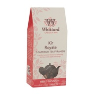 Kir Royale Large Leaf Teabags from Whittard of Chelsea