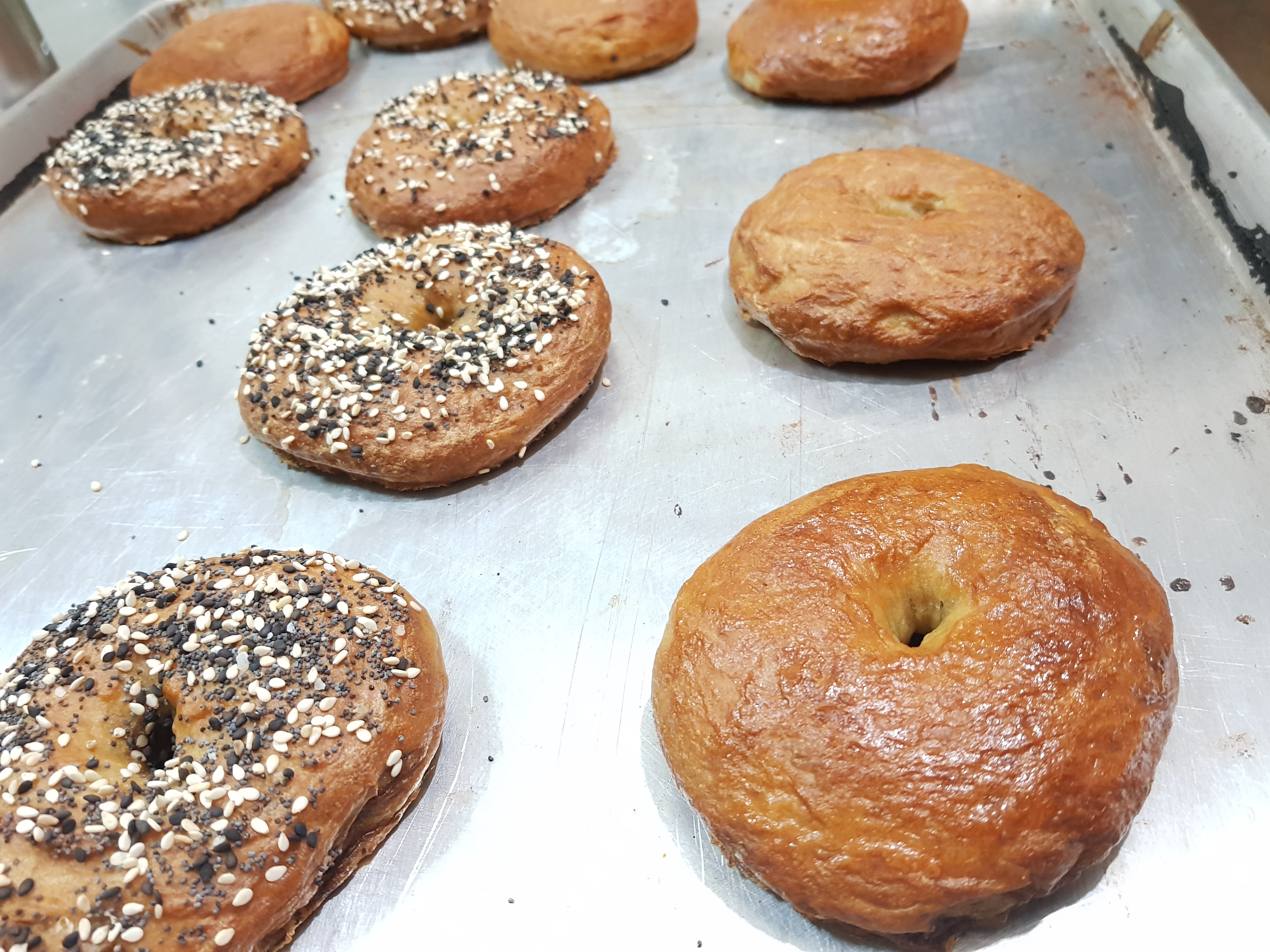 Amazing Chewy Bagels From Scratch