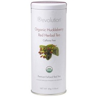 Organic Huckleberry Red Herbal Tea from Revolution Tea