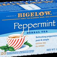Peppermint Herb Tea from Bigelow