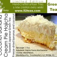 Coconut Banana Cream Pie Hojicha from 52teas