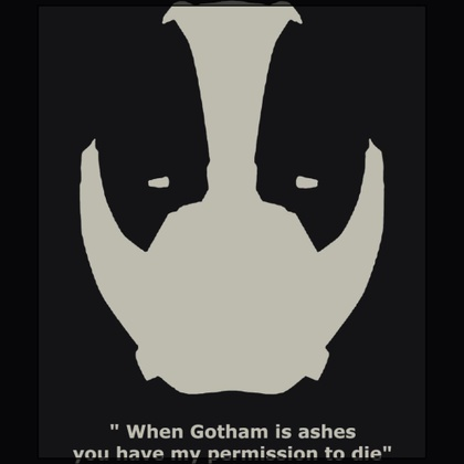Bane the man who broke the bat mask - when gotham ashes you have my permission to die black t-shirt