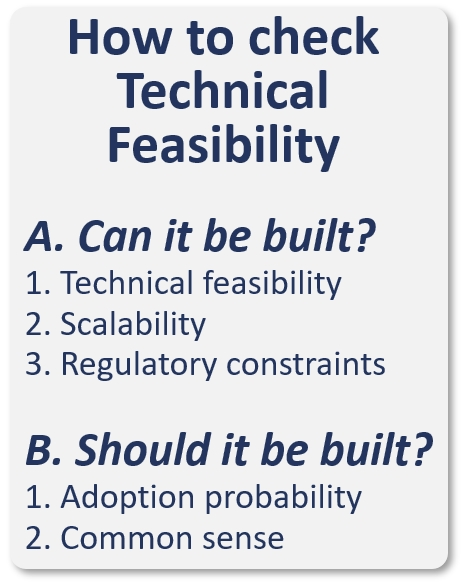 How to check technical feasibility image