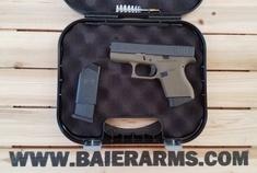 Glock New in Box G43 OD 9mm 6rds