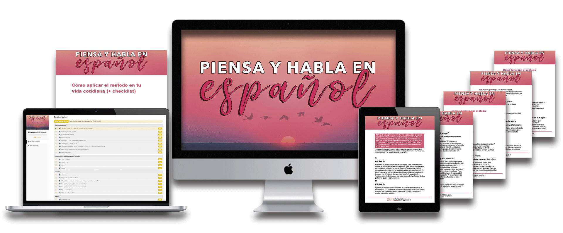 Pack 1: Habla español con fluidez   EspañolAutomatico