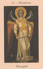 Archangel Metatron from Angel Blessings Cards