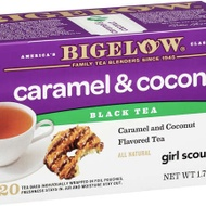 Caramel and Chocolate Girl Scout Cookie Tea (Samoa/Caramel Delite) from Bigelow