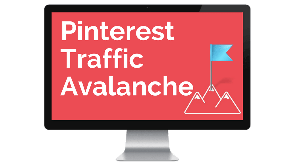 Pinterest Traffic Avalanche Course for Beginner Bloggers